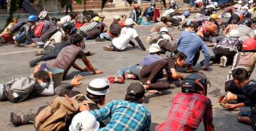 Myanmar'daki Darbe Karşıtı Gösterilerde Can Kaybı Artıyor