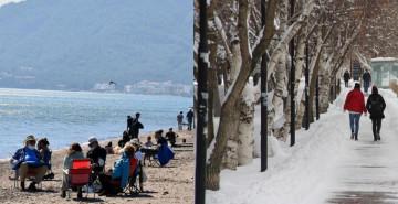 Türkiye'nin Dört Bir Yanında Farklı İklim Yaşanıyor