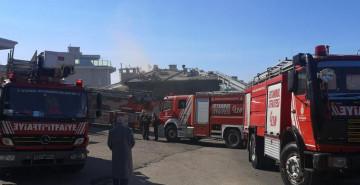 Tuzla'da Çıkan Yangın Korkuttu