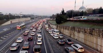 Yasağın Ardından İstanbul'da Trafik Yoğunluğu