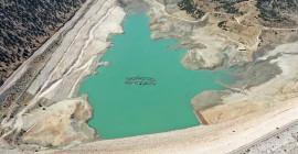 Antalya'da Kuraklık Dolayısıyla Baraj Tarla Görünümü Aldı