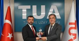 Türkiye Uzay Ajansı'nın İnternet Sitesi Ödül Aldı