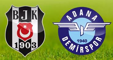 Maç Sona Erdi! Beşiktaş 3-3 Adana Demirspor