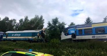 Çekya'da Tren Kazası! Çok Sayıda Ölü ve Yaralı Var