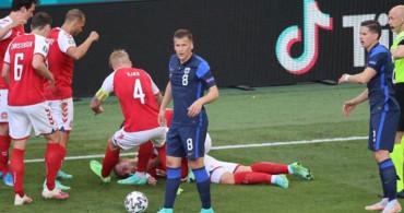 Danimarka-Finlandiya Maçında Christian Eriksen'in Kalbi Durdu!