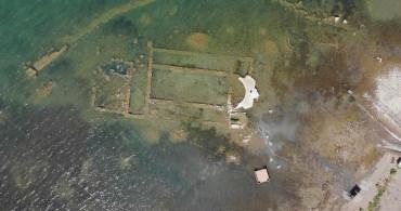 İznik'te Sular Çekildi! Dünyanın En Önemli Keşfi Batık Bazilika Gün Yüzüne Çıktı