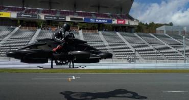 Japonya'da Bir Teknoloji Şirketi Uçan Motosiklet Ürettiğini Açıkladı! Motosikletin Fiyatı İse Dudak Uçuklatıyor