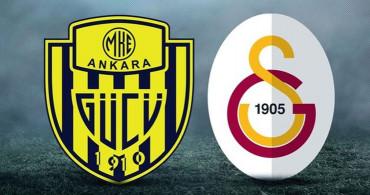 Maç Sona Erdi! Ankaragücü 2-1 Galatasaray