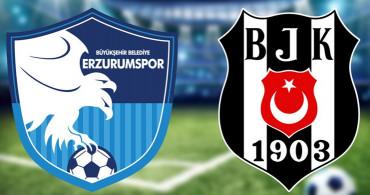 Maç Sona Erdi! Erzurumspor 2-4 Beşiktaş