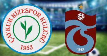 Maç Sona Erdi! Rizespor 0-0 Trabzonspor