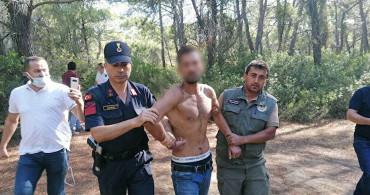 Manavgat'ta Ormanı Yakarken Yakalandı
