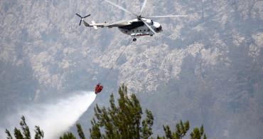 Mersin'deki Orman Yangınlar Kontrol Altında