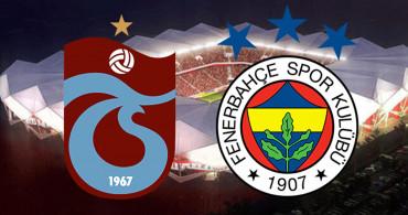 Maç Sona Erdi! Trabzonspor 3-1 Fenerbahçe