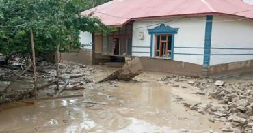 Van Başkale'de Sel Felaketi