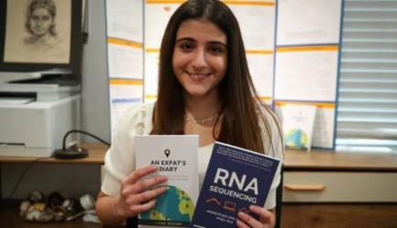 16 Yaşındaki Türk Kızı Lara Yazdığı Kitapla ABD'de En Çok Okunanlar Arasında