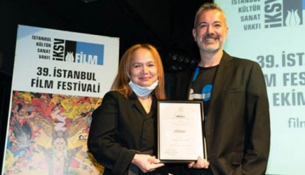 39. İstanbul Film Festivali Uluslararası Yarışma ve Ulusal Belgesel Yarışması Ödülleri Verildi
