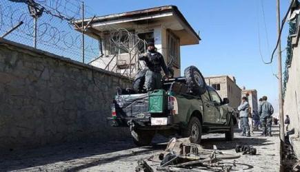Afganistan'da Karakola Saldırı