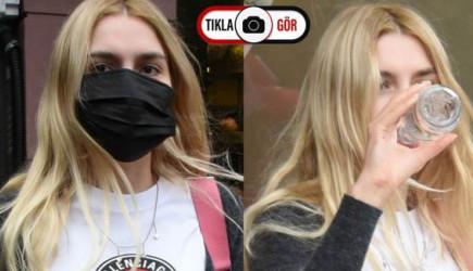 Aleyna Tilki'nin Yemek Sonrası Art Arda Sigara İçmesi Dikkat Çekti
