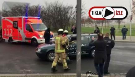 Almanya'da Başbakanlık Binasına Saldırı Girişimi!