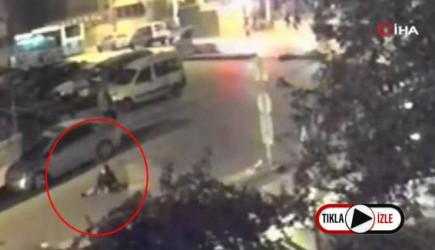 Ankara'da Cani sürücü Vurup Kaçtı