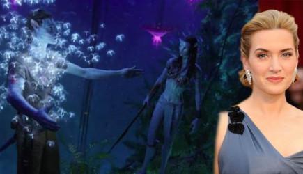 Avatar 2'nin Kamera Arkası Görüntülerinde Kate Winslet de Var