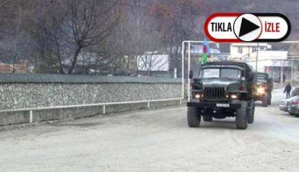 Azerbaycan'ın Kelbecer'e Asker Sevkiyatı Devam Ediyor