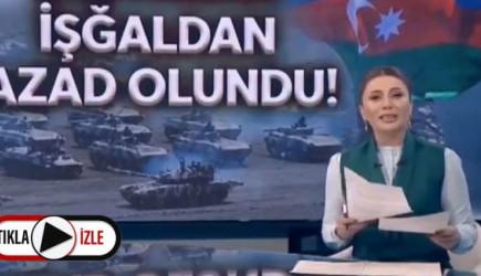 Azerbaycanlı Spiker, Zengilan'ın Kurtuluş Haberini Verirken Sevinç Gözyaşı Döktü