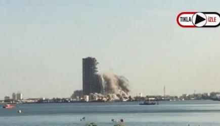 BAE'de 144 Katlı Gökdelen Patlatıldı