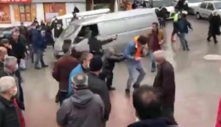 Bartın'da Otobüsçülerin Tartışması Kavgaya Dönüştü