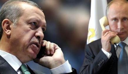 Başkan Erdoğan, Putin İle Görüştü