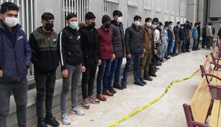 Başkent'te 13 Düzensiz Göçmen Yakalandı