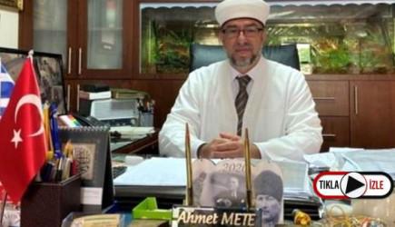 Batı Trakya'da Müftü Mete'ye Irkçı Tehdit: İyi Türk, Ölü Türk'tür