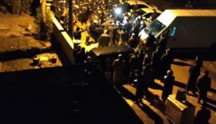Cemaat Lideri Yakup Haşimi'nin Mezarının Taşınması Sırasında Arbede!
