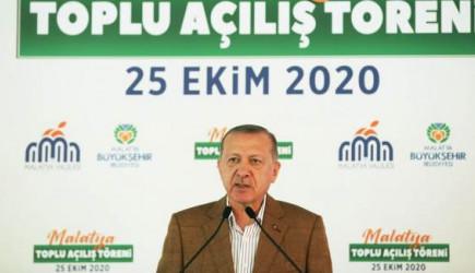 Cumhurbaşkanı Erdoğan: 2023 Hedeflerimiz Devam Ediyor