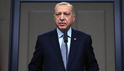 Cumhurbaşkanı Erdoğan'dan Kuraklık Mesajı