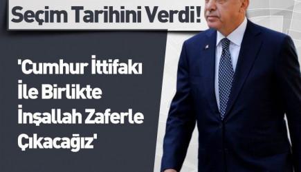 Cumhurbaşkanı Erdoğan'dan 2023 Seçimlerine 'Cumhur İttifakı' Vurgusu