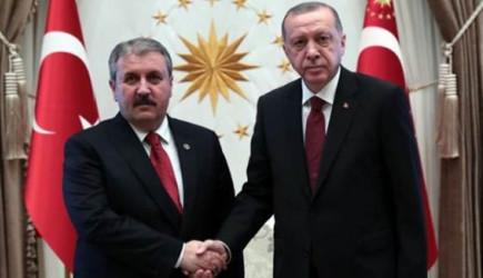 Cumhurbaşkanı Erdoğan'dan BBP'ye Tebrik