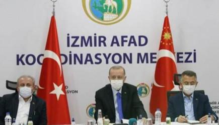 Cumhurbaşkanı Erdoğan'dan Deprem Bölgesinde Açıklamalar