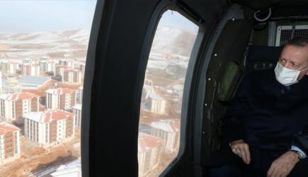 Cumhurbaşkanı Erdoğan'dan Elazığ Deprem Bölgesinde İnceleme