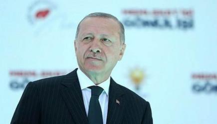 Cumhurbaşkanı Erdoğan'dan Orta Doğu Mesajı