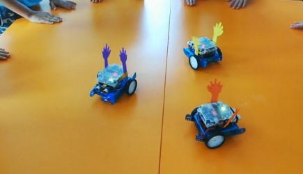 Erik Dalı Oynayan Robotlar İlgi Topladı