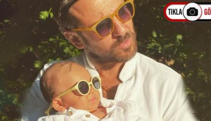 Erkan Kolçak Köstendil'in Baba Oğul Pozu Beğeni Topladı