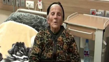 Ermeni Askerlerin Terk Ettiği Ermeni Kadına Azerbaycan Sahip Çıktı