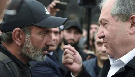 Ermenistan Cumhurbaşkanı Sarkisyan'dan Başbakan Paşinyan'a İstifa Çağrısı
