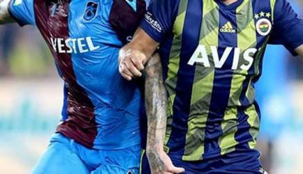 Fenerbahçe-Trabzonspor Muhtemel 11'ler!