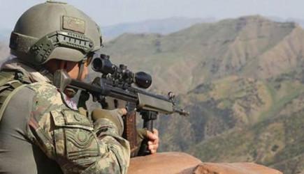 Fırat Kalkanı ve Barış Pınarı Bölgesinde İki Terörist Etkisiz Hale Getirildi