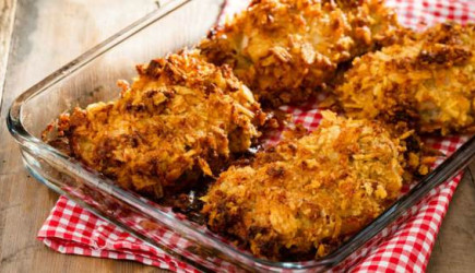 Fırında Çıtır Tavuk Tarifi İçin Malzemeler