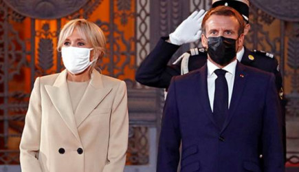 Fransa Cumhurbaşkanı Macron'un Eşi Karantinaya Alındı