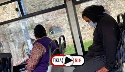 Halk Otobüsünde Utanmadan Mastürbasyon Yaptı