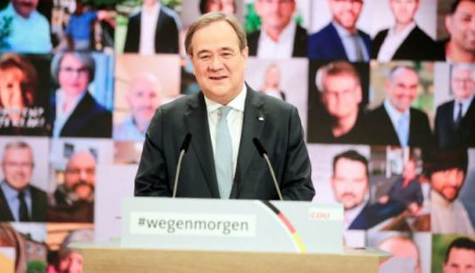Hristiyan Demokrat Birlik Partisi'nin Genel Başkanı Armin Laschet Oldu
